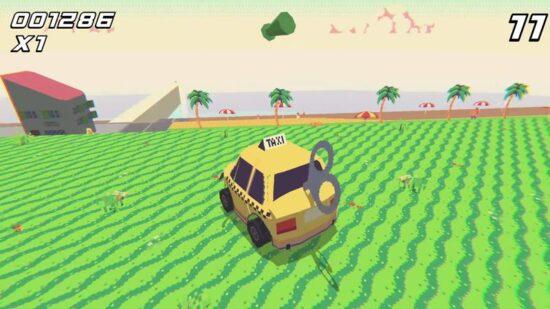 لعبة سيارة الاجرة الصفراء Psycho Taxi - Rewind