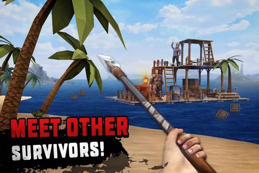 تحميل لعبة البقاء على قيد الحياة للاندرويد Raft Survival 2
