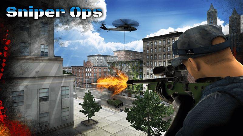 تحميل لعبة القناص للكمبيوتر بحجم صغير Sniper Ops 3D Shooter