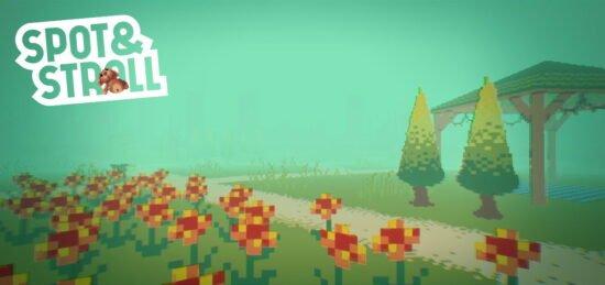 لعبة ممتعة جدا للكمبيوتر Spot And Stroll 2