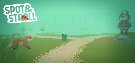 لعبة ممتعة جدا للكمبيوتر Spot And Stroll