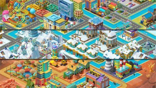 تحميل لعبة بناء المدينة للكمبيوتر Town City - Village Building Sim Paradise 2