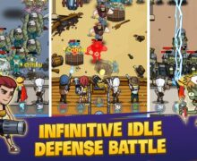 لعبة زومبي جديدة للاندرويد Zombie War Idle Defense Game
