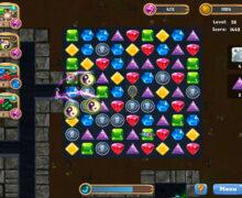 لعبة مغامرات البحث عن الكنز Caves and Castles: Underworld