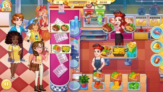 تحميل لعبة مذكرات مطبخ الشيف المجنون Cooking Life 2