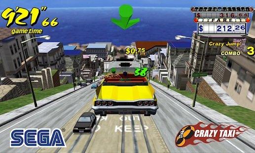 لعبة سيارة الاجرة مجانا Crazy Taxi Classic