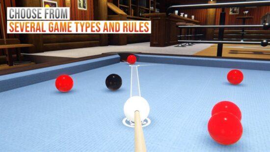 تحميل لعبة بلياردو للكمبيوتر Cue Billiard Club 2