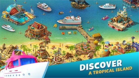 تحميل لعبة بناء مدينة للكمبيوتر Paradise Island 2 2