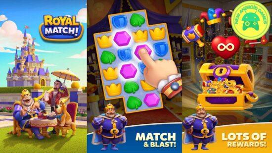 لعبة رويال ماتش Royal Match لعبة احجيات للاندرويد 2
