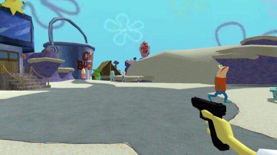 تحميل لعبة عالم سبونج بوب للكمبيوتر SpongeGlock SquarePants 2