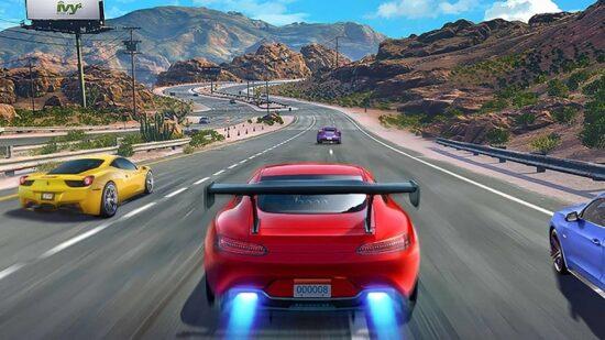 لعبة سباق سيارات للاندرويد Street Racing 3D 2