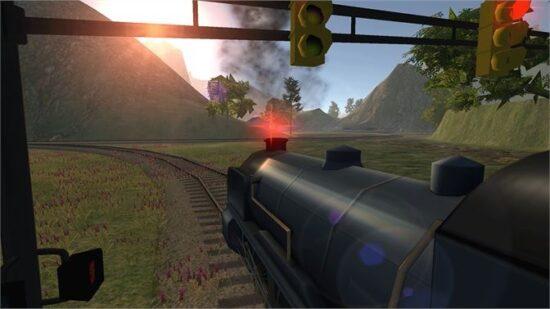 تحميل لعبة محاكاة السيارات للكمبيوتر Train Driver 2