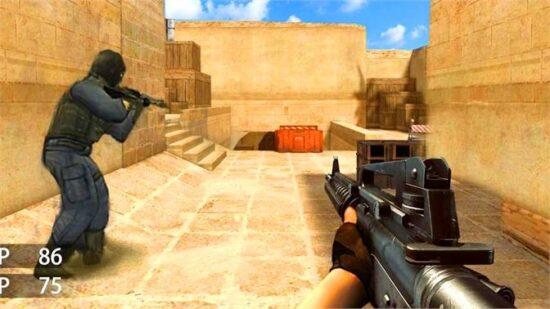 لعبة القوات الخاصة ثلاثية الابعاد Warfare Strike CSGO
