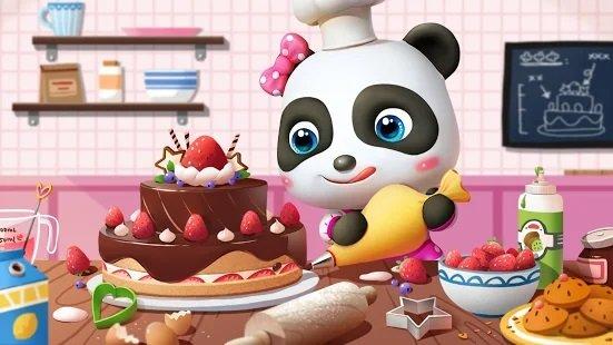 تحميل لعبة عالم صغير الباندا لعبة اطفال صغار 2