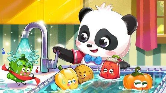 تحميل لعبة عالم صغير الباندا لعبة اطفال صغار