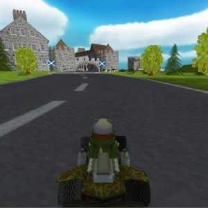 تحميل لعبة سباق السيارات SuperTuxKart