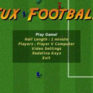 تحميل لعب كرة قدم Tux Football