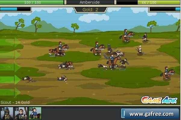 لعبة حرب الجيوش الافريقية Empires of Arkeia