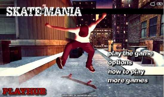تحميل لعبة التزلج في المدينة Skate Mania