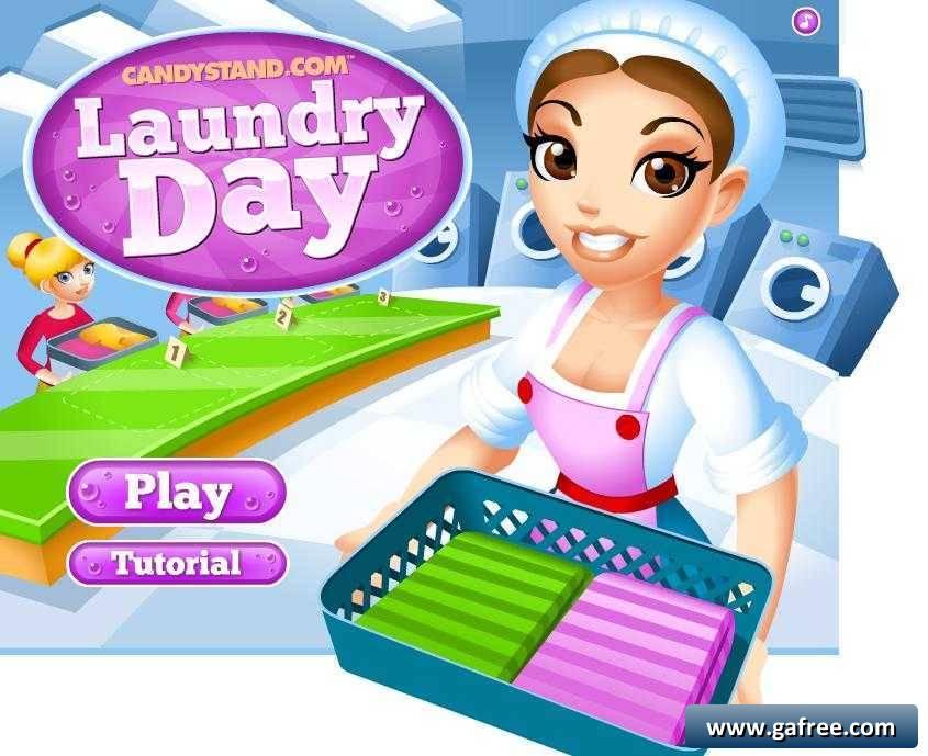 تحميل لعبة المصبنة Laundry Day