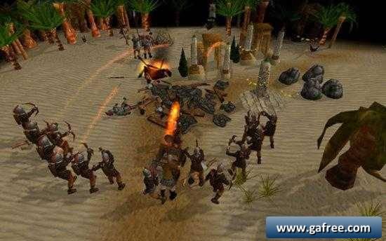 تحميل لعبة حرب القبائل MegaGlest