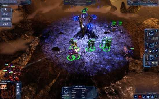 لعبة الهجوم على القرى Hostile Worlds