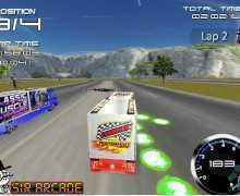 تحميل لعبة سباق الشاحنات النقل BattleTrucks
