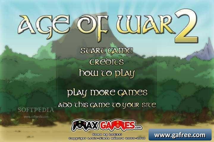 لعبة الحرب بين القلعتين Age of War 2