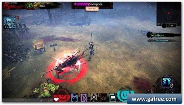 لعبة الحرب الاسطورية Akaneiro