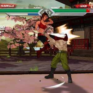لعبة قتال الشوارع Ballistic Fist
