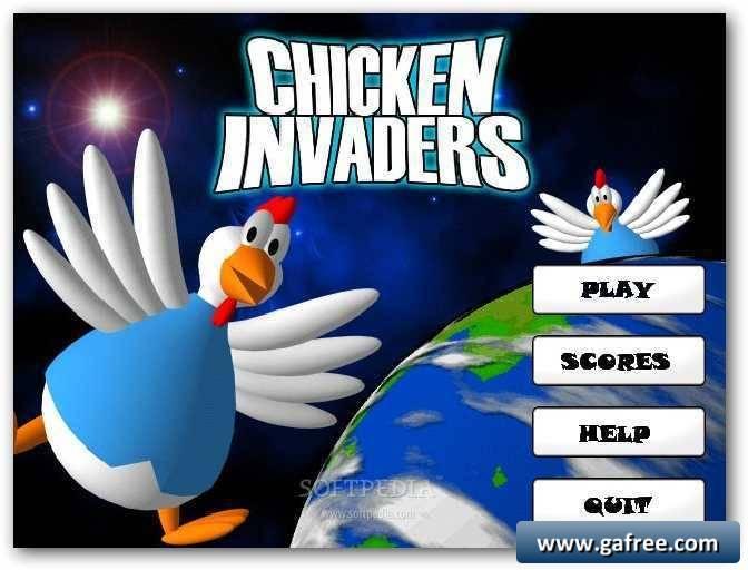 لعبة الدجاج والبيض Chicken Invasion