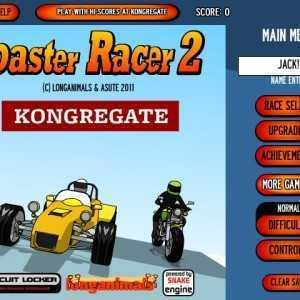 لعبة الدراجات الخطيرة Coaster Racer 2