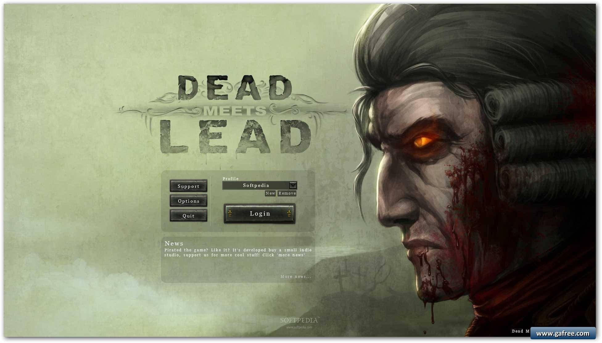 لعبة شرس في الجزيرة Dead Meets Lead