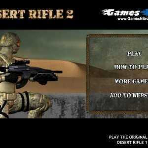 لعبة الدفاع والهجوم Desert Rifle 2
