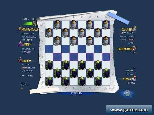 لعبة الداما تحميل Falco Checkers