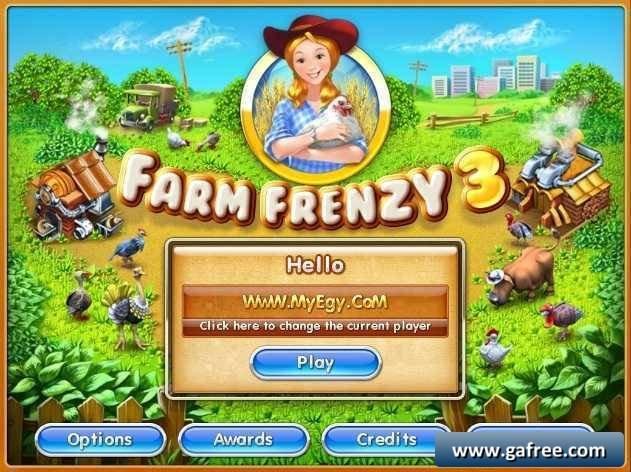 لعبة مزرعة الحيوانات Farm Frenzy 3