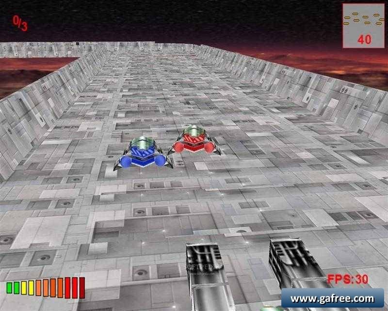 لعبة سباق سيارات قتال Hover Racers