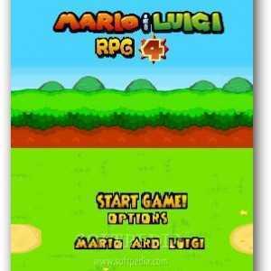لعبة سوبر ماريو ولويجي Mario and Luigi