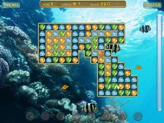 تحميل لعبة حورية البحر Underwater Puzzle