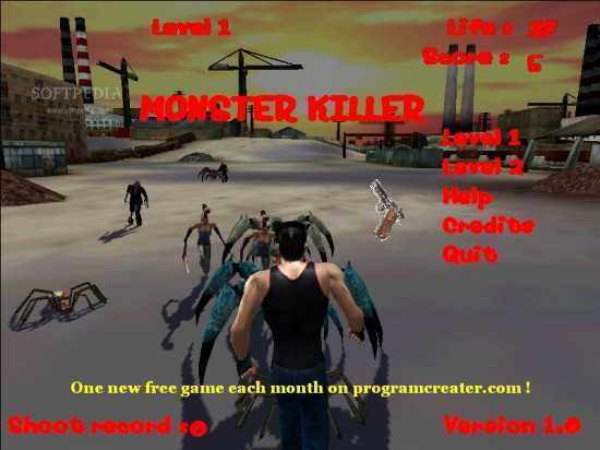 تحميل لعبة قاتل الوحوش Monster Killer