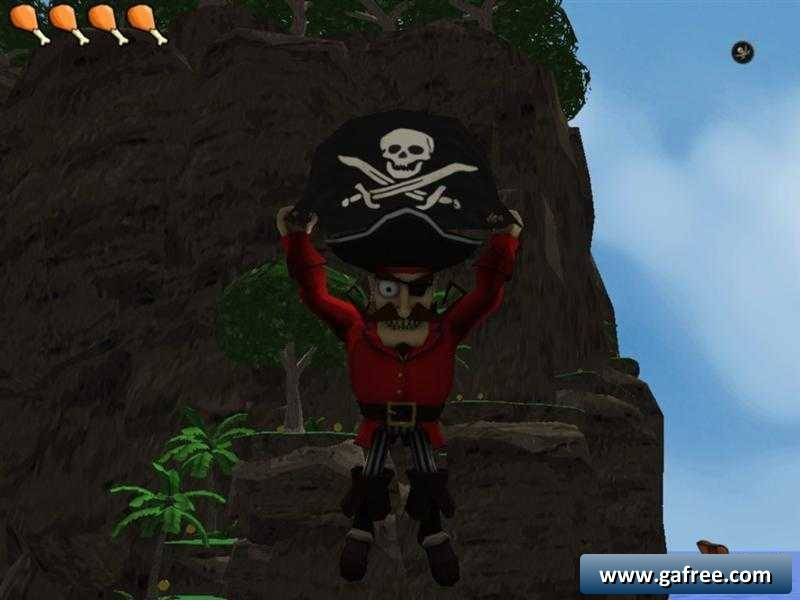 لعبة القراصنة والكنز Booty Hunt