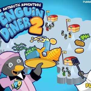 لعبة البطريق الجزء Penguin Diner