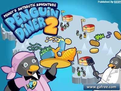 لعبة البطريق الجزء 2 Penguin Diner