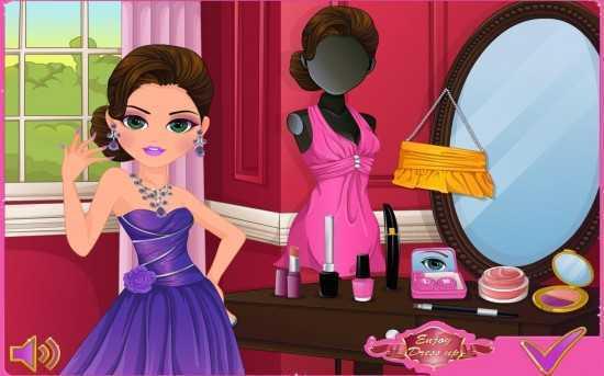 لعبة مناكير ميك اب Prom Preparation Makeover
