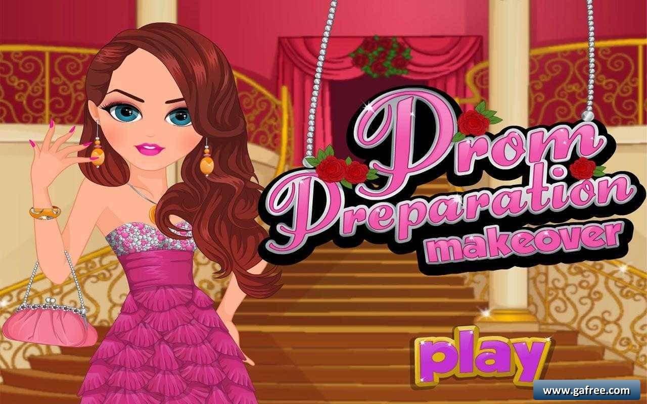 لعبة مناكير Prom Preparation