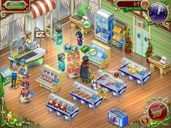 تحميل لعبة ادارة سوبر ماركت Spooky Mall