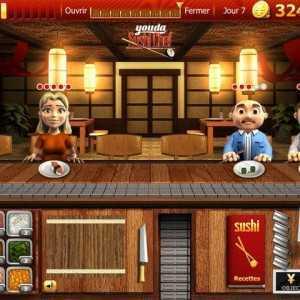 لعبة المطعم الاسيوي Youda Sushi