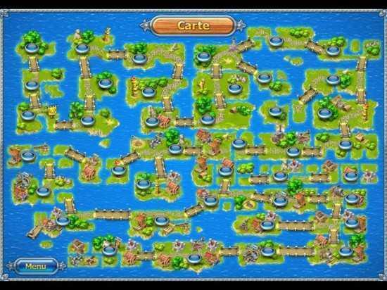 لعبة بناء الجزيرة L'Archipel aux Cent Îles