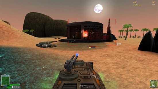 اللعبة الحربية Tiberium Crystal War