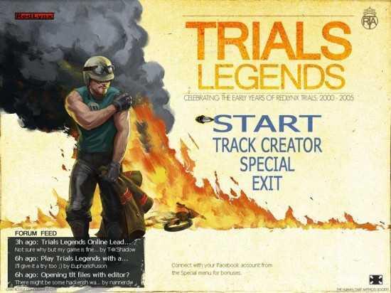 تحميل لعبة الدراجات النارية Trials Legends